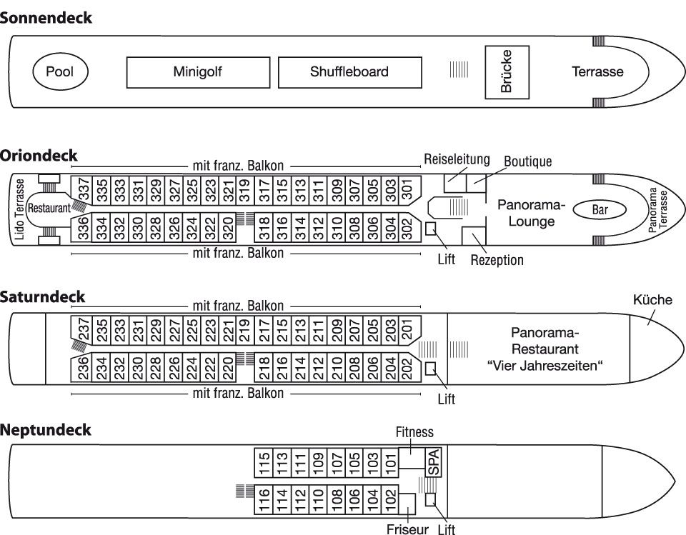 MS Anesha Deckplan