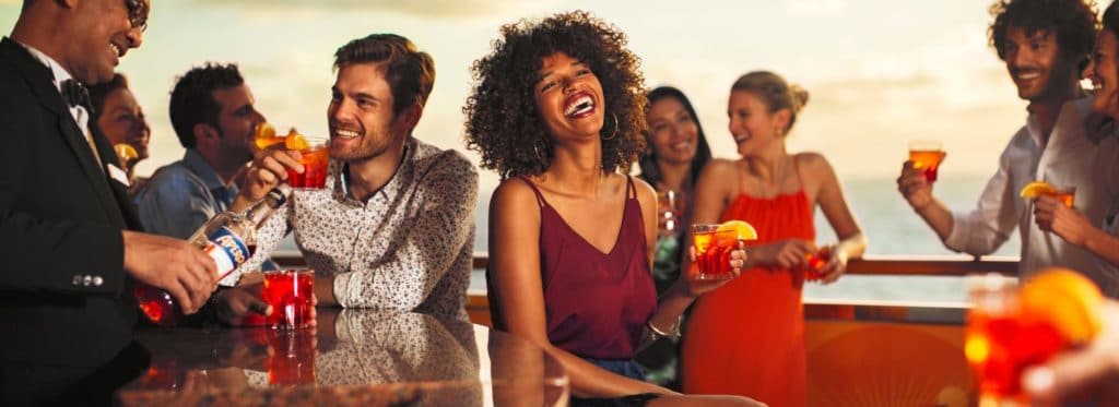Costa Fascinosa Aperol Spritz Bar