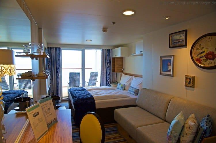 Mein Schiff 5 Balkonkabine