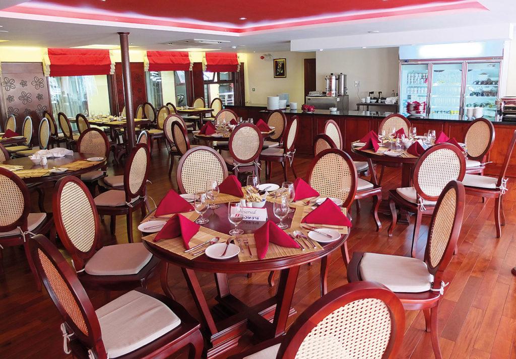 MS Mekong Prestige II Restaurant