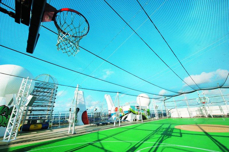 Norwegian Epic-Basketballfeld