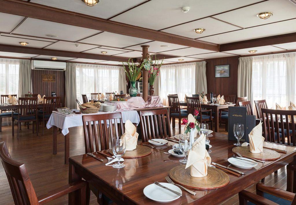 MS Thurgau Exotic II Restaurant