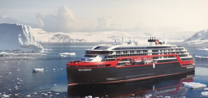 Hurtigruten setzt auf Batterie-Antrieb und Biokraftstoff