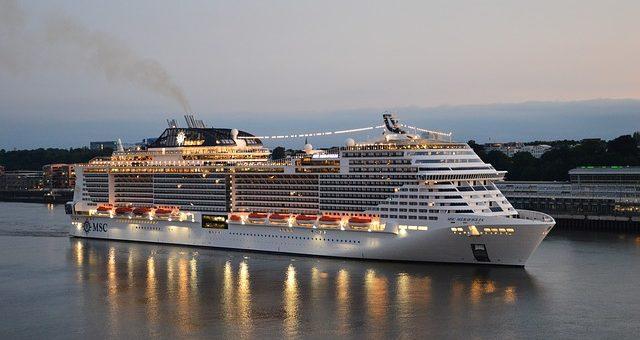 Kreuzfahrtschiffe in Hamburg