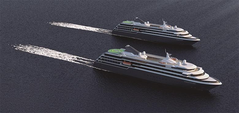 Kreuzfahrtschiffe in Kiel – Juli 2020