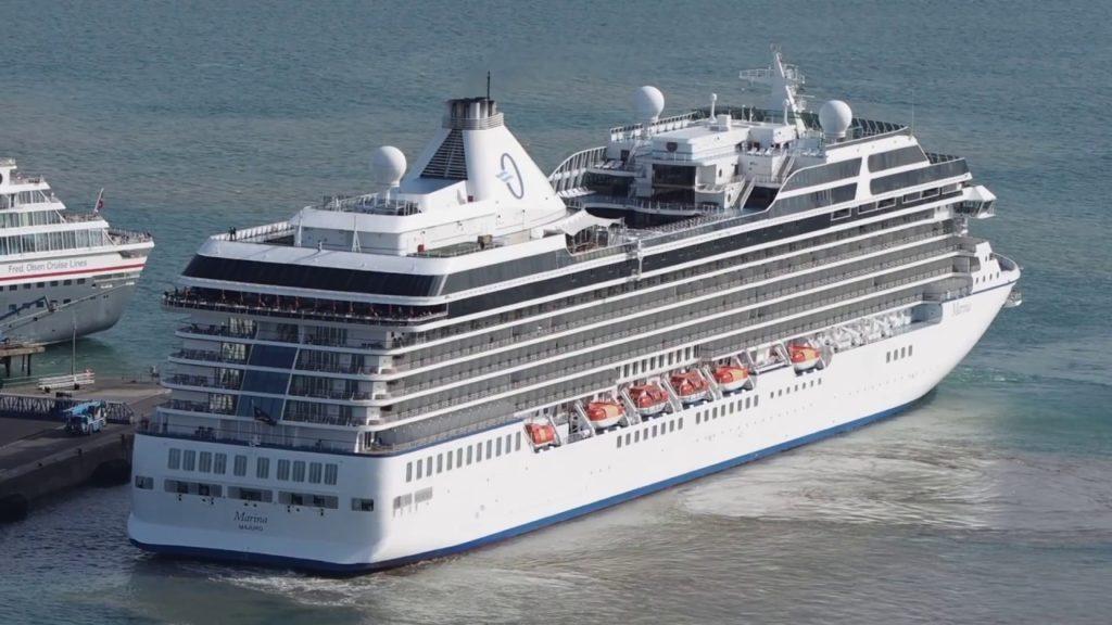Oceania Marina | Live Aktuelle Position Verfolgen | Webcam