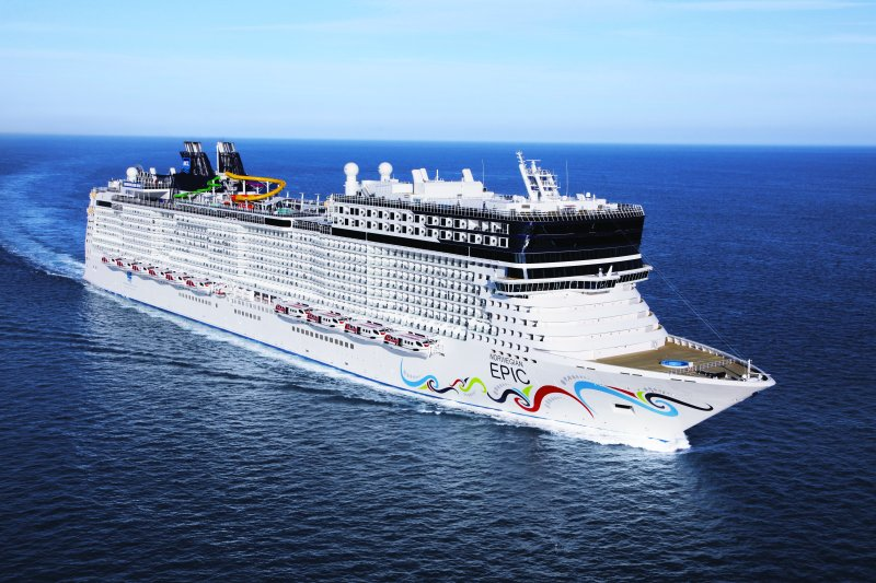 Norwegian Epic kehrt nach Crash in Puerto Rico zurück