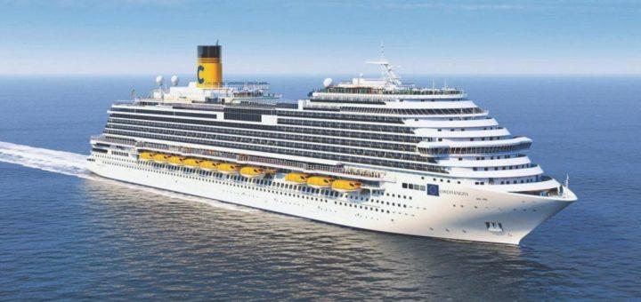 Costa Kreuzfahrten: Costa Smeralda legt heute in Savona ab