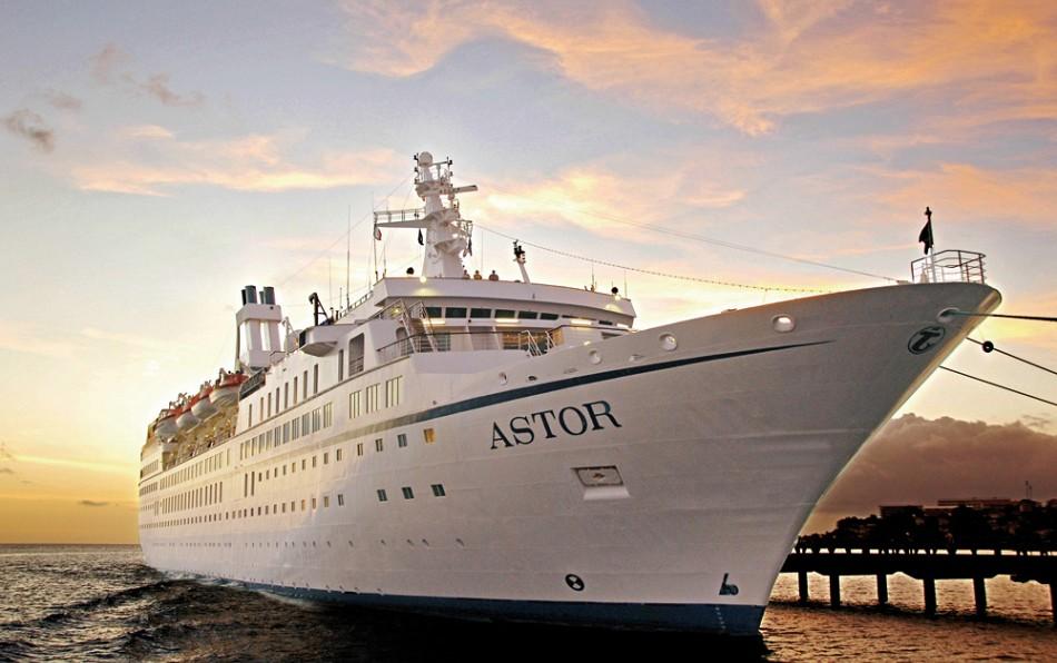 MS Astor Schiffsbesichtigungen