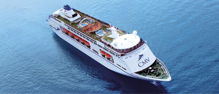 Kreuzfahrtschiffe in Warnemünde – Oktober 2020