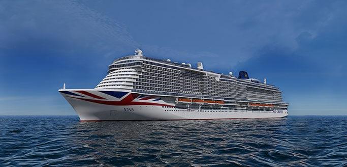 P & O Cruises enthüllt Details zum neuen Spa & Fitnesscenter vom Neubau Iona