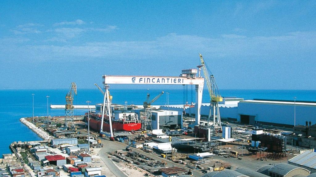 Fincantieri: Stahlschnitt für das neue Schiff von Holland America Line