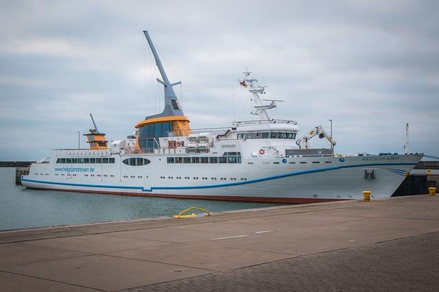 Kreuzfahrtschiffe in Helgoland