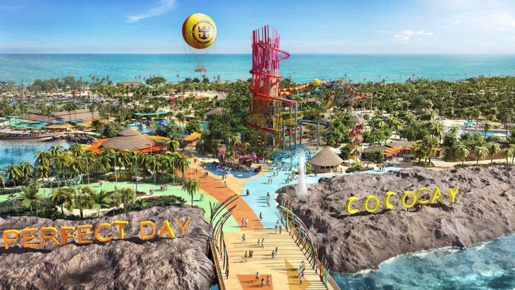 Royal Caribbean eröffnet neue Attraktionen auf CocoCay