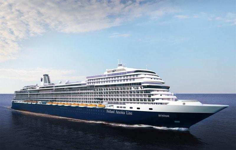 Holland America Line nächstes Schiff wird Ryndam genannt