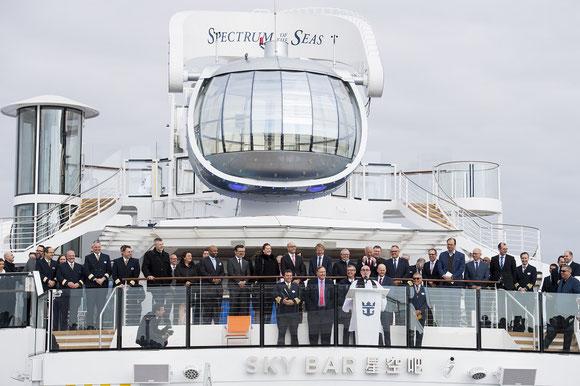Meyer Werft: Spectrum of the Seas an Royal Caribbean übergeben