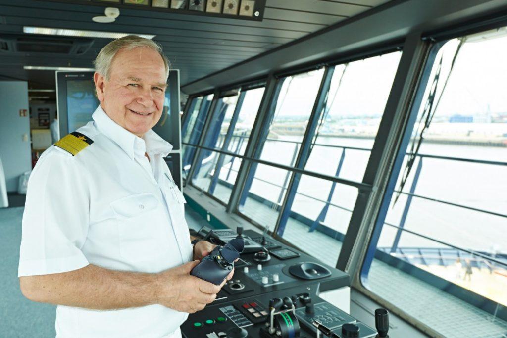 Kapitän Kjell Holm zieht es nach seiner Karriere auf See zurück