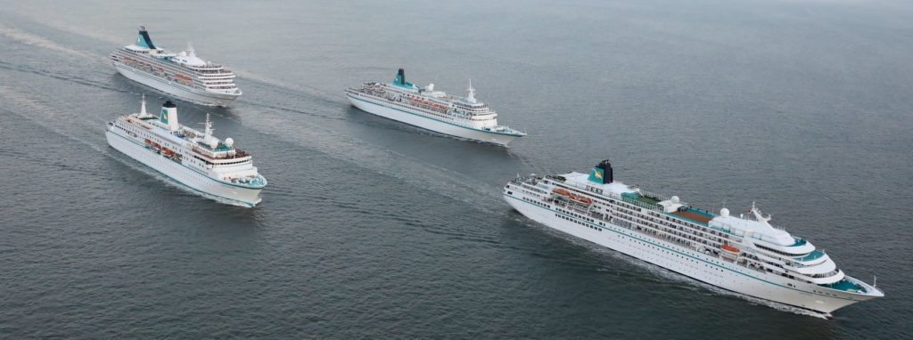 Kreuzfahrtschiffe in Kiel – Dezember 2020