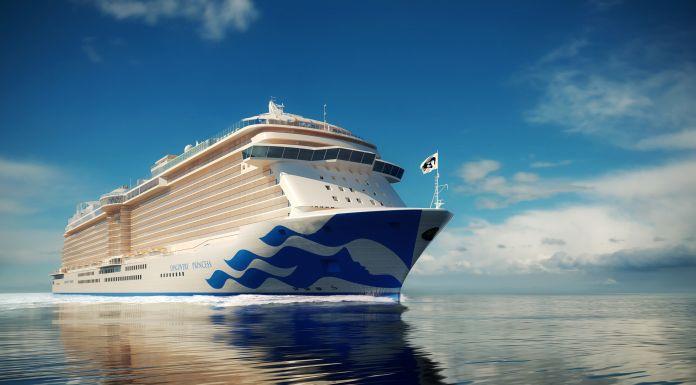 Princess Cruises gibt den Namen des 6. Royal-Class-Schiffes bekannt.
