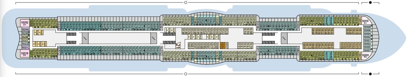 AIDAcosma Deck 10