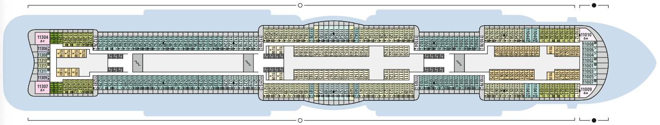 AIDAcosma Deck 11