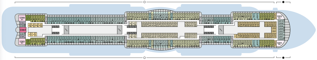 AIDAcosma Deck 12