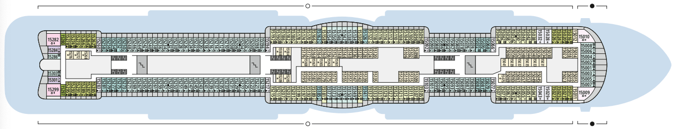 AIDAcosma Deck 15
