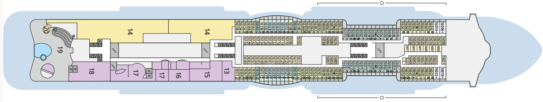 AIDAcosma Deck 16