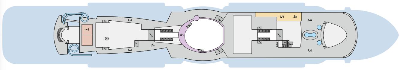AIDAcosma Deck 18