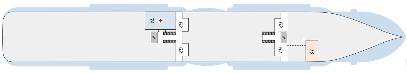 AIDAcosma Deck 3