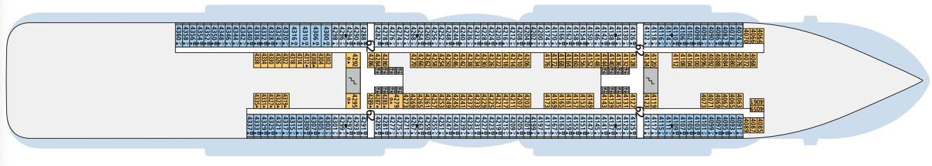 AIDAcosma Deck 4