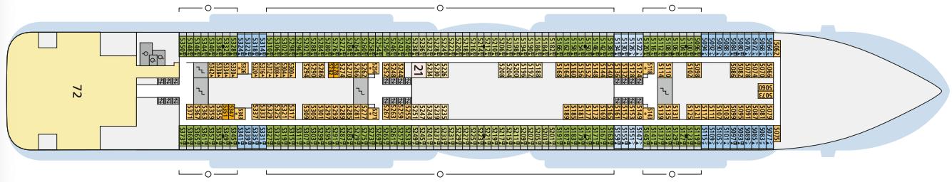 AIDAcosma Deck 5