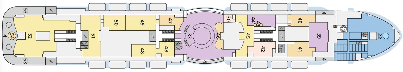 AIDAcosma Deck 7