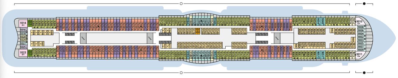 AIDAcosma Deck 9