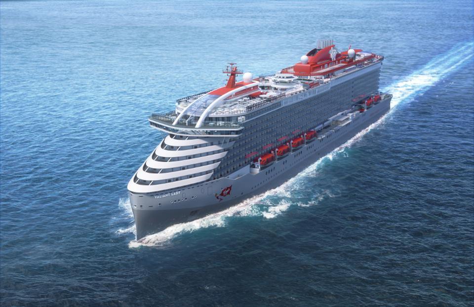 Virgin Voyages enthüllt den Namen des zweiten Schiffes