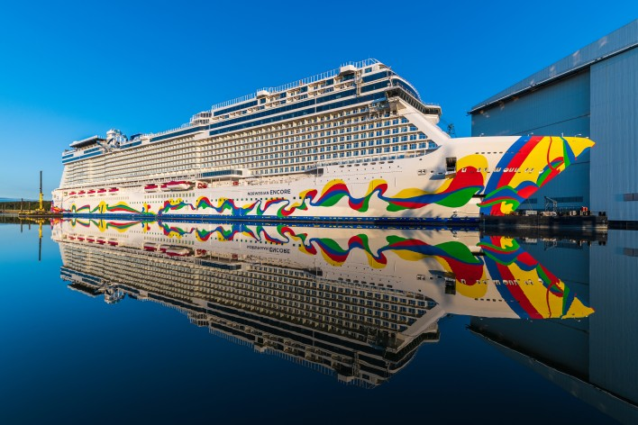 Norwegian Encore offiziell in Miami getauft