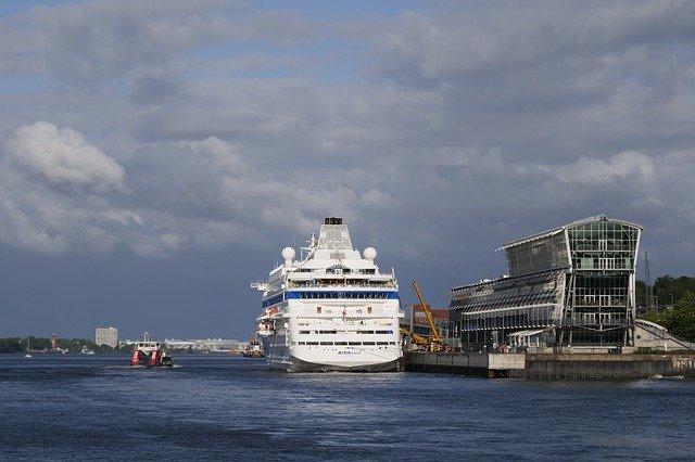 Kreuzfahrt-Terminals in Hamburg