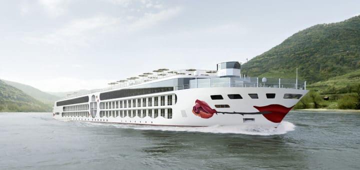 """Stapellauf """"A-Rosa E-Motion Ship"""": Neubau nimmt wichtigen Meilenstein auf dem Weg zu Fertigstellung"""