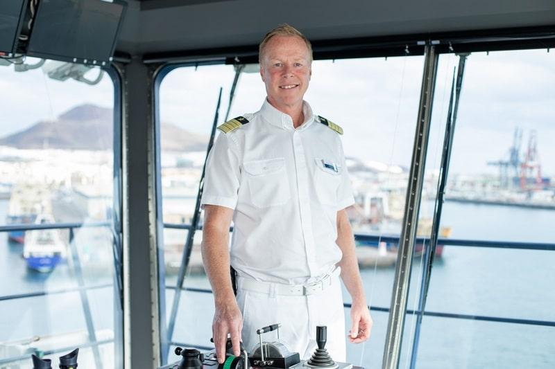 Per Hard ist der neue Kapitän der Mein Schiff 3