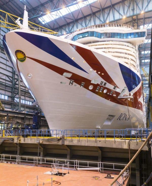 Iona – Neues Flaggschiff von P&O Cruises mit LNG-Antrieb