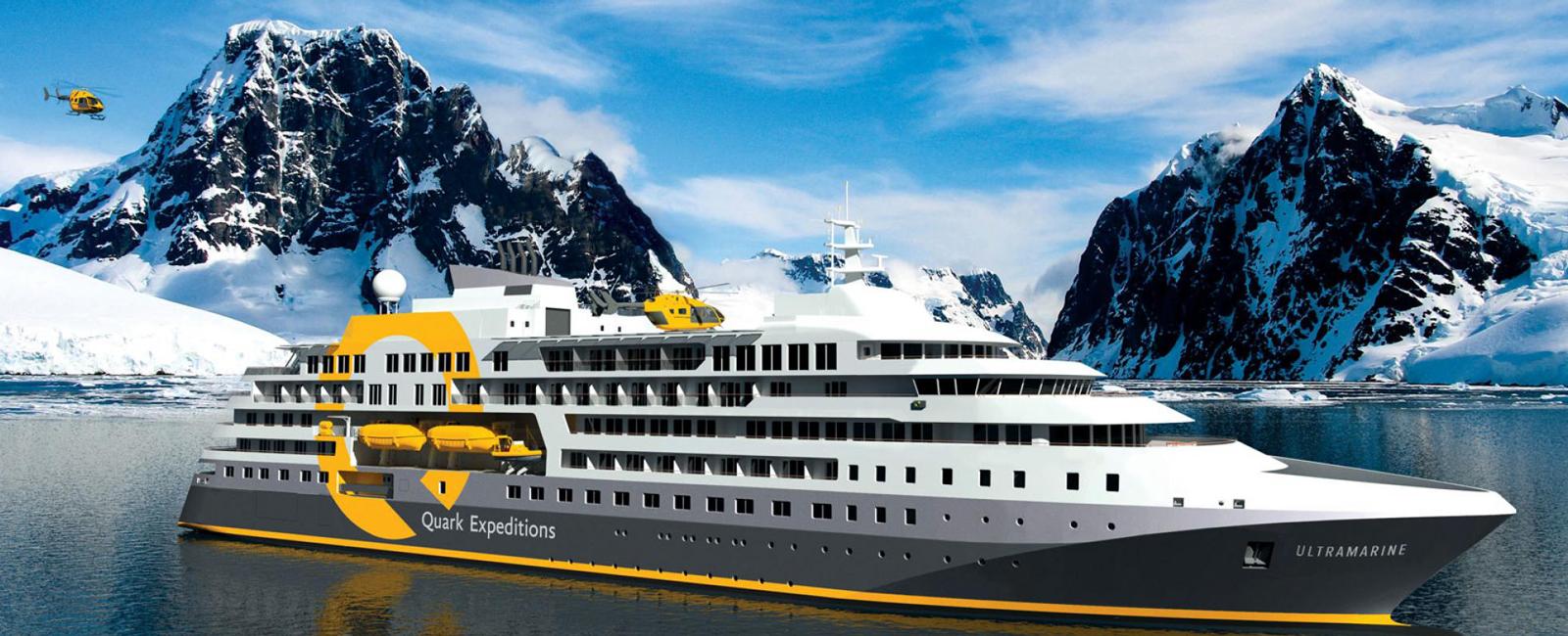 Quark Expeditions neues Polar-Kreuzfahrtschiff ist für die erste Saison buchbar