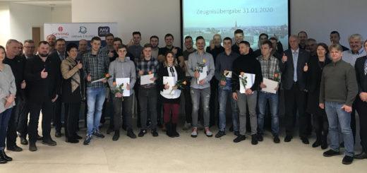 Jungfacharbeiter schließen Ausbildung bei MV Werften erfolgreich ab
