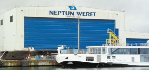 NEPTUN liefert Schiffe an Viking River Cruises