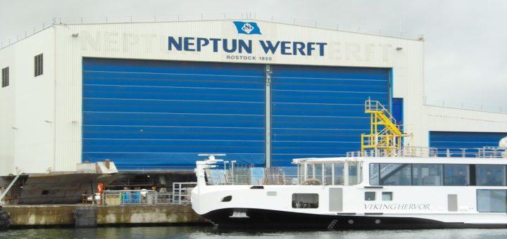 Neptun Werft: Zwei weitere Flusskreuzfahrtschiffe wurden an Viking River Cruises abgeliefert