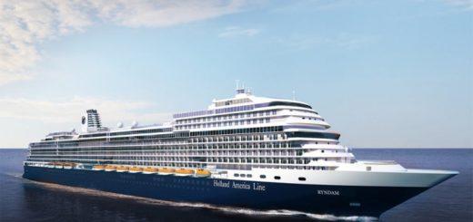 Holland America Line sagt Kreuzfahrten bis 30 Juni 2020 ab