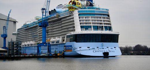 Meyer Werft: Odyssey of the Seas startet zur Emsüberführung