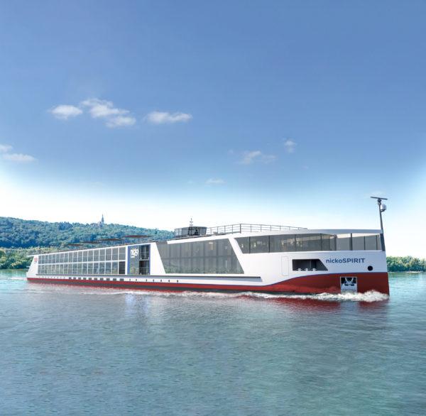 Erste Flusssaison für innovativen Neubau auf Rhein, Main und Mosel: Nicko Spirit bricht zur Jungfernfahrt auf
