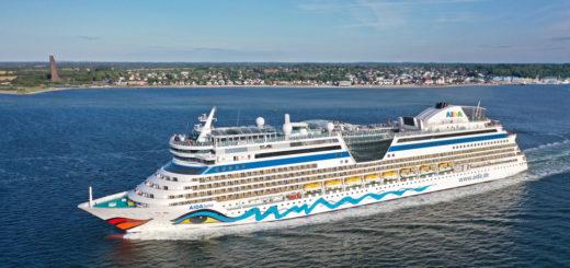 AIDA Cruises setzt mit AIDAluna zweites Kreuzfahrtschiff ab Kiel ein