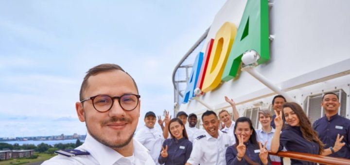 AIDA Cruises startet Joboffensive an Bord und an Land