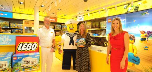 AIDA eröffnet weltweit ersten LEGO Store an Bord eines Kreuzfahrtschiffes